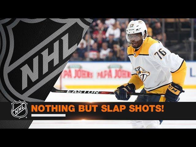 The Best Slap Shot Goals from Week 10