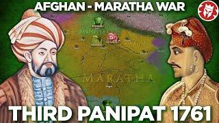 Battle of Panipat 1761 - Durrani-Maratha War DOCUMENTARY