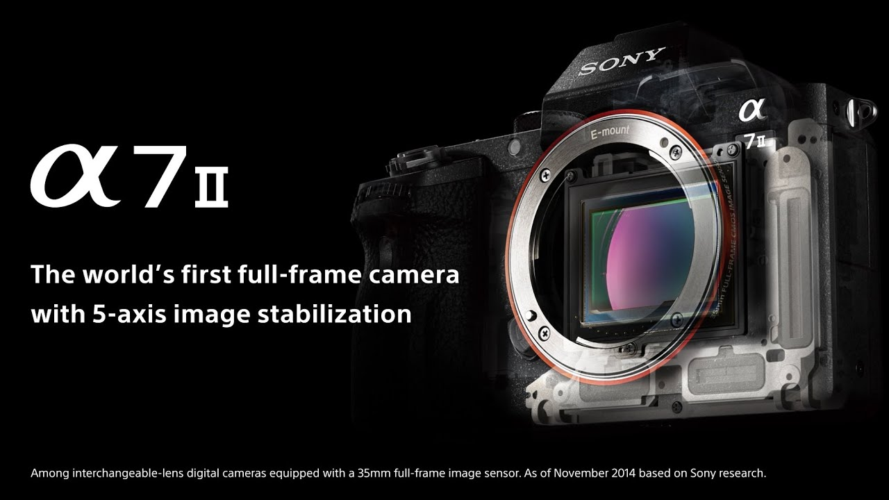 Sony's New a7II is the First Full-Frame Camera with 5-Axis