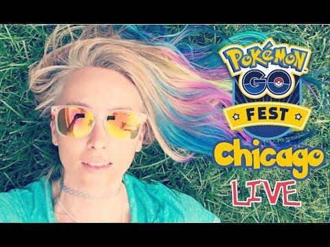Pokémon GO CHICAGO GRANT PARK LiveStream