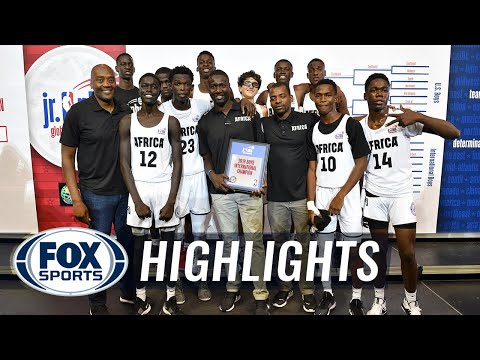 Africa defeats Canada to win the International Championship | JR NBA CHAMPIONSHIPS