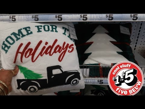 FIVE BELOW * CHRISTMAS DECOR SNEAK PEEK!!! SHOP WITH ME