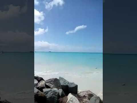 Antigua village beach front property