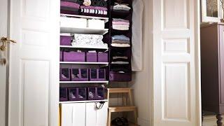 Организация и хранение в шкафу.Хранение детских вещей