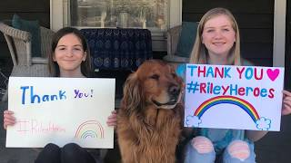 Thank you to our Riley Heroes