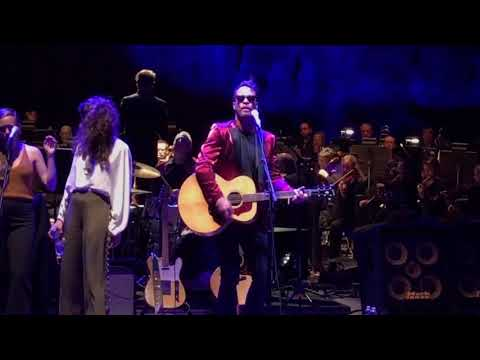 Amos Lee Violin Red Rocks Amphitheater 71617