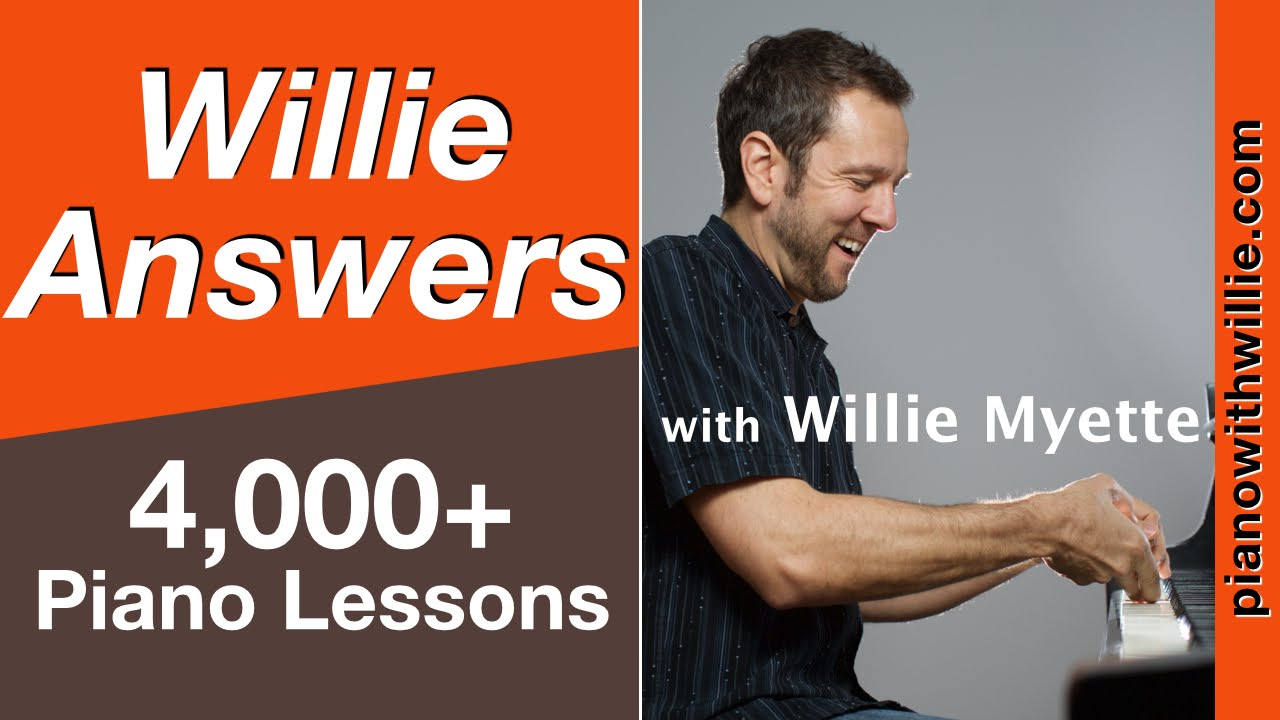 Willie Answers - Creating a Bebop Solo at the Piano