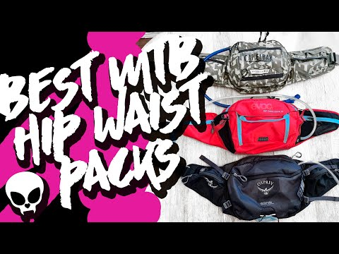 Best Hip Waist Packs for Mountain Biking: A Review
