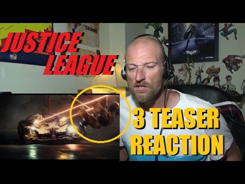Justice League - All Unite The League Teasers - Reaction