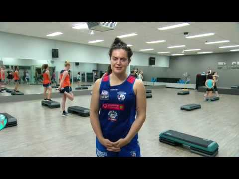 Womens Footy Show - Episode 6 - Body Step Class
