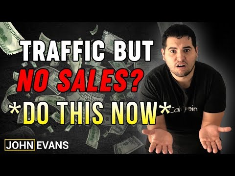 Traffic But No Sales *DO THIS NOW* | Shopify Dropshipping 2019 thumbnail