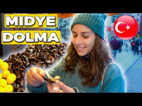 Travelling from Europe to Asia for stuffed mussels - Kadıköy Istanbul