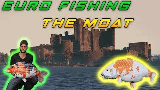 Euro Fishing: The Moat Gameplay map