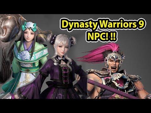 CUCUNYA Dong Zhuo & Istrinya Zhang Fei?! - Dynasty Warriors 9 NPC PREVIEW!