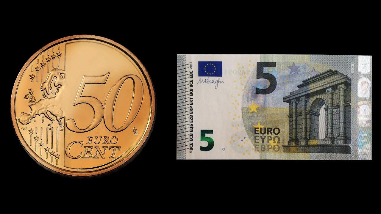 magic convert money 50 cent to 5 euro youtube. Black Bedroom Furniture Sets. Home Design Ideas