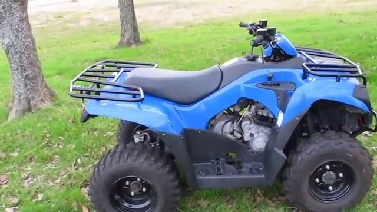 2014 kawasaki brute force 300, includes a winch, for sale in texas