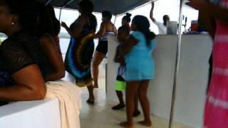 Negril-Jamaica: Sunset Catamaran Party- July 2014