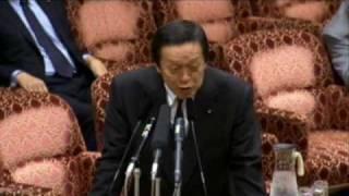 2009.3.26 参院予算委・福島みずほ議員が北朝鮮ミサイル迎撃作戦を斬る!