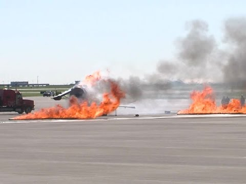 Indianapolis International Airport conducts safety drill