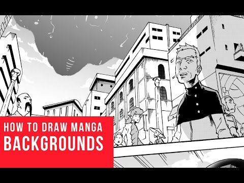 How to draw manga backgrounds shonen ep 3 youtube - Sketch anime wallpaper ...