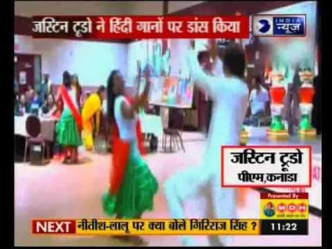 Canadian PM Justin Trudeau Rocks the Dance Floor on Bhangra Beat