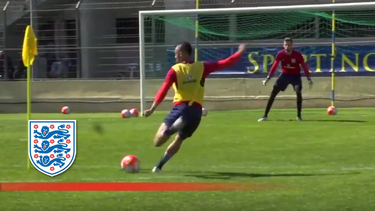 England U21 Shooting Session in Toulon | Inside Training ...