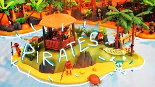 Playmobil PIRATES Exposition DIORAMA