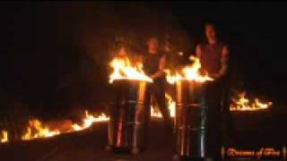 Burning Drums - Manipulation of Fire & Metal - Dreams of Fire