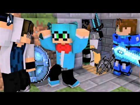 """Minecraft Songs 1 Hour Version """"Like A Boss"""" Castle Raid Part 3 - Top Minecraft Songs"""