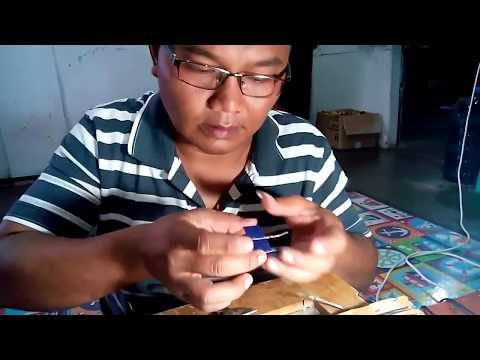 cara membuat solar sel (How to make solarcell)