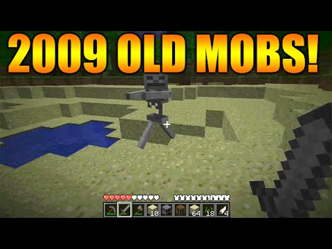 ★minecraft Gameplay From 2009 2010 The First Ever