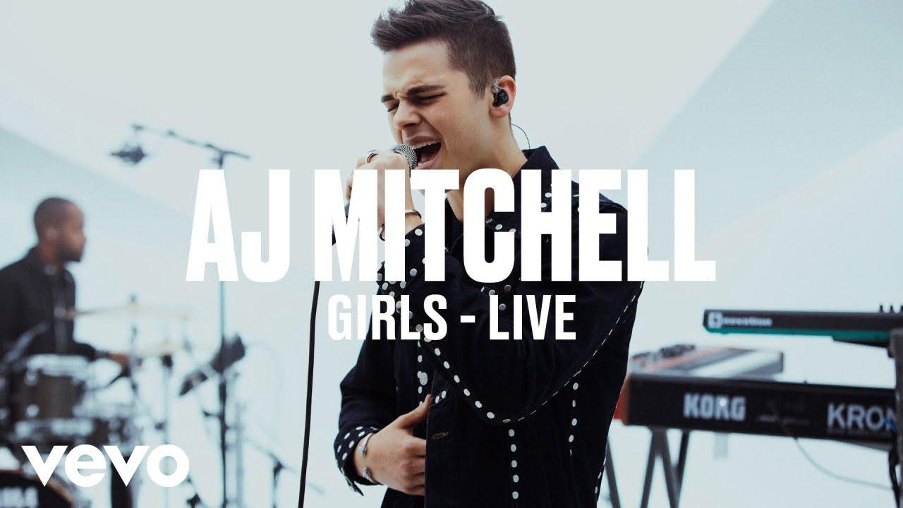 AJ Mitchell — Girls (Live) | Vevo DSCVR ARTISTS TO WATCH 2019