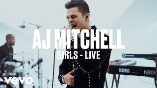 AJ Mitchell - Girls (Live) | Vevo DSCVR ARTISTS TO WATCH 2019