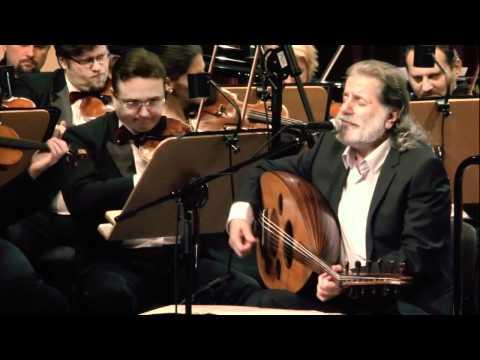Marcel Khalifé with the  Qatar Philharmonic - Ahla men Rakwe