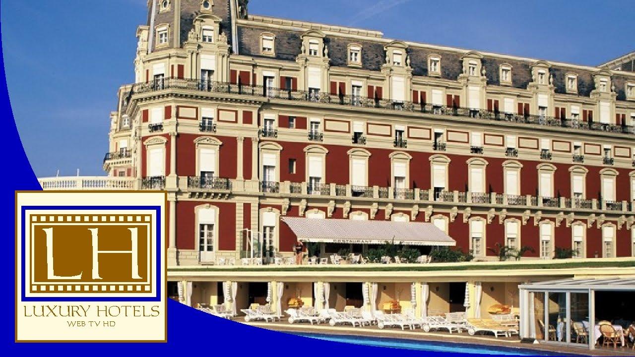Luxury hotels h tel du palais biarritz youtube - Prix chambre hotel du palais biarritz ...