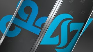 C9 vs CLG | Semifinals Game 1 | LCS Summer Split | Cloud9 vs. Counter Logic Gaming (2019)