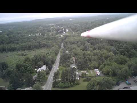 Dollar Tree foam board airplane