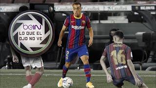 Lo que el ojo no ve - Ansu Fati y Sergiño Dest vs Sevilla