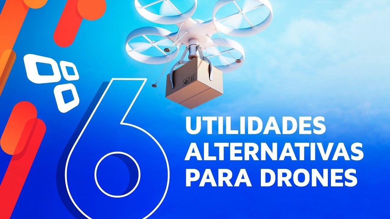 6 utilidades alternativas que já existem para drones - TecMundo