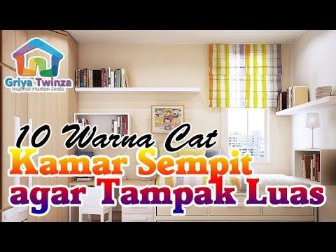 10 Warna Cat Kamar Tidur Ini Cocok Untuk Ruangan Sempit Youtube