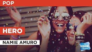 Cover images Hero : Namie Amuro | Karaoke with Lyrics