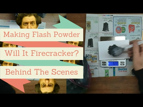 Making Flash Powder - WIFC Behind The Scenes