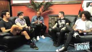 Fall Out Boy Interview - Saturday Night Online