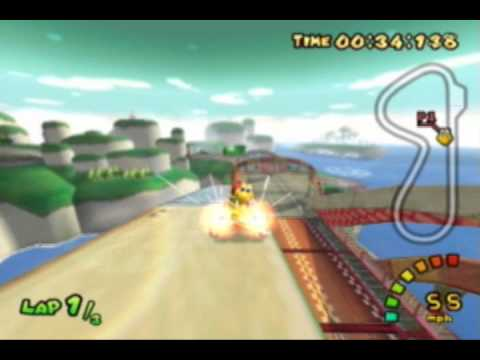 Mario Kart Double Dash Different Pathways, Shortcuts, Glitch And Tactics