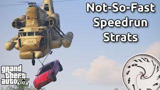 Interesting GTAV Speedrun Strats (That aren't actually faster) #1