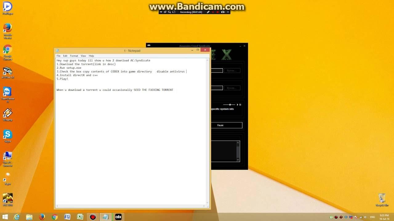 Скачать assassin's creed: syndicate торрент бесплатно на компьютер.
