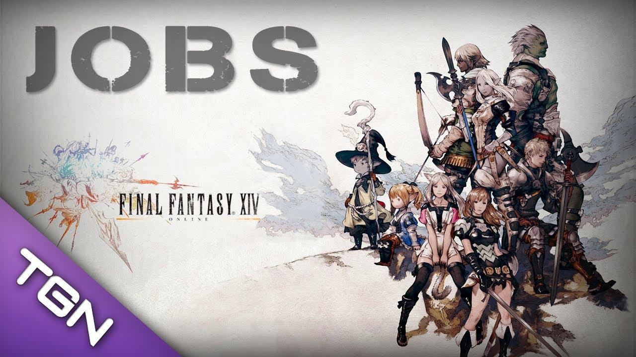 final fantasy xiv online a realm reborn jobs classes builds