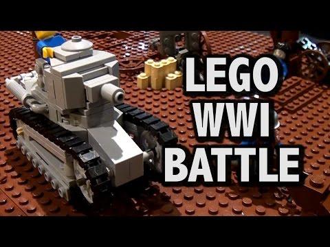 LEGO WWI Western Front Assault | Brickworld Chicago 2016