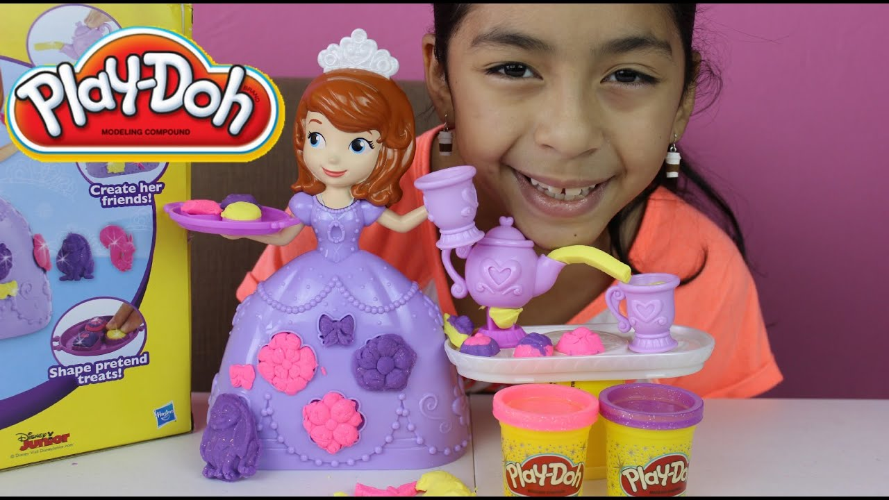 play doh sofia the first play doh tea party set tuesday
