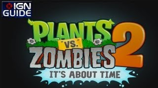 Plants vs Zombies 2 Walkthrough - Ancient Egypt: Day 07 - Star 02